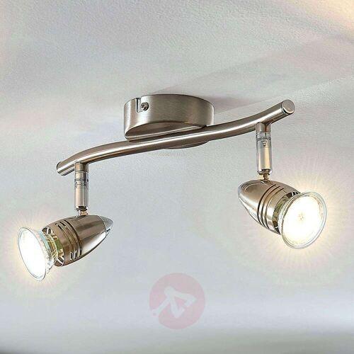 Lampenwelt.com LED-Deckenstrahler Benina, 2-flammig