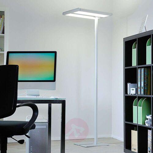 Arcchio Office-LED-Stehlampe Quirin aus Alu, 110W 4.000K