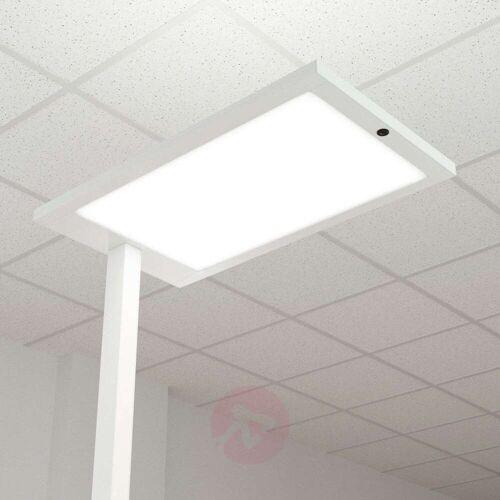 Arcchio LED-Büro-Stehlampe Almira mit Dimmer, weiß