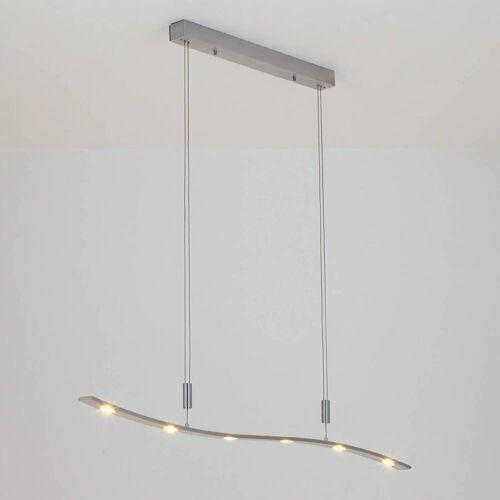 Lucande Höhenverstellbare LED-Hängeleuchte Xalu, 120 cm