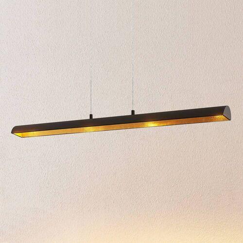Lindby Solvina LED-Esstisch-Hängeleuchte, länglich