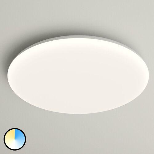 Lampenwelt.com LED-Deckenlampe Azra, weiß, rund, IP54, Ø 40 cm