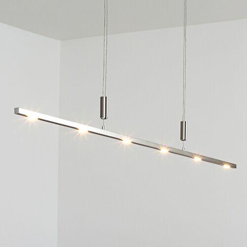 Lucande Höhenverstellbare LED-Pendelleuchte Tolu 140 cm