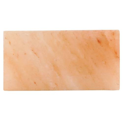 Mahlzeit Salzstein 20,5 x 10,5 x 2,7 cm  Stein aus der Himalaya Region