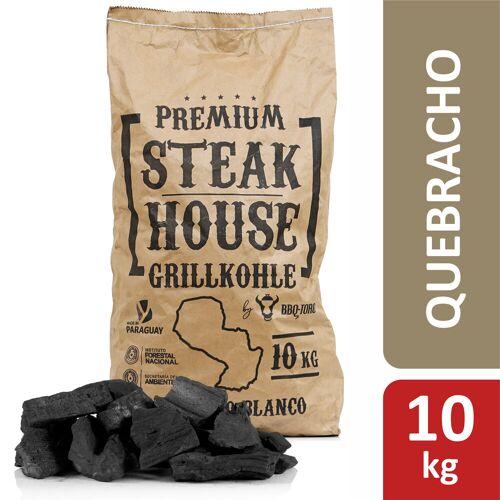 BBQ-Toro Premium Steak House Grillkohle  10 kg  Querbracho Blanco