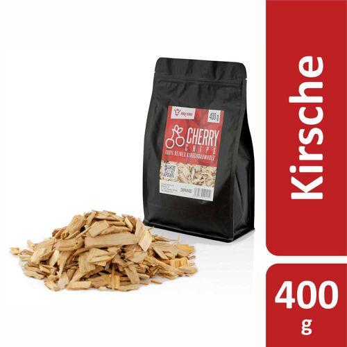 BBQ-Toro Cherry Smoker Chips (400 g) Räucherchips aus Kirschholz