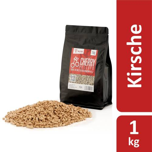 BBQ-Toro 1 kg Cherry Pellets aus 100% Kirschbaumholz  Kirschpellets