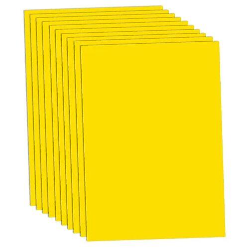 Fotokarton, gelb, 50 x 70 cm, 10 Blatt