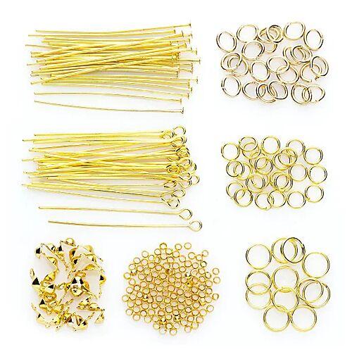 Hochwertiges Zubehör-Set, gold