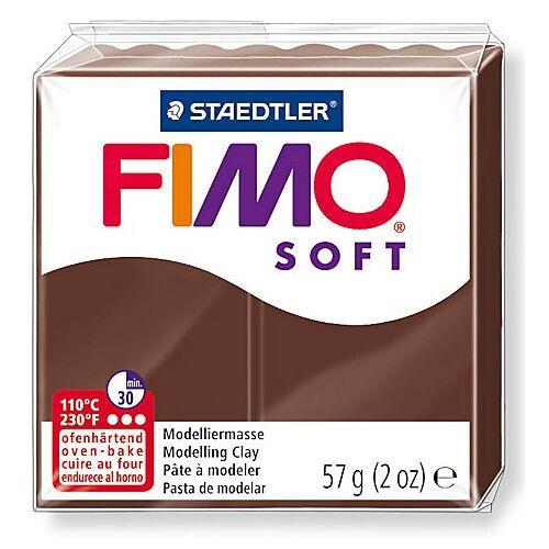 Fimo-Soft, schokolade, 57 g
