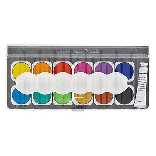 Deckfarbkasten, 12 Farben