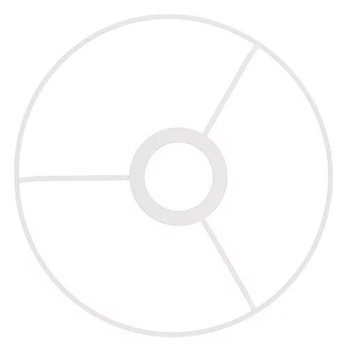 Metall-Ring mit Kreuz, 20 cm Ø