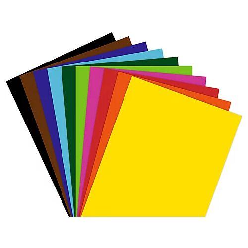 Fotokarton, bunt, 21 x 29,7 cm, 100 Blatt