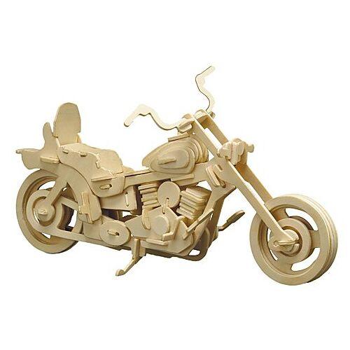Holzbausatz Motorrad, 30 x 18 cm