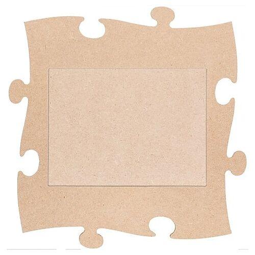"MDF-Puzzle-Bilderrahmen ""Rechteck"", 24 x 24 cm"