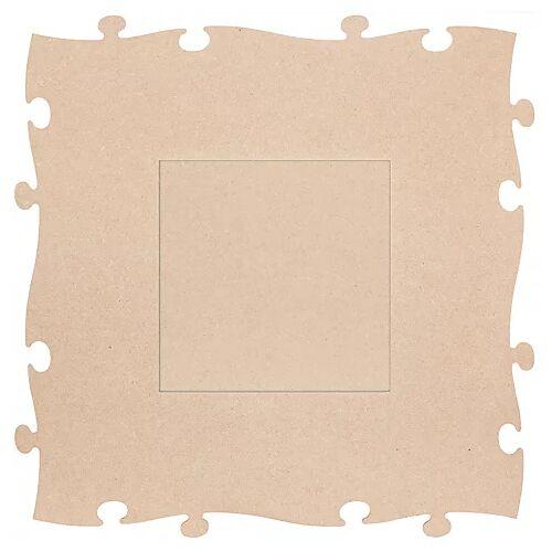 """MDF-Puzzle-Bilderrahmen """"Quadrat"""", 45 x 45 cm"""