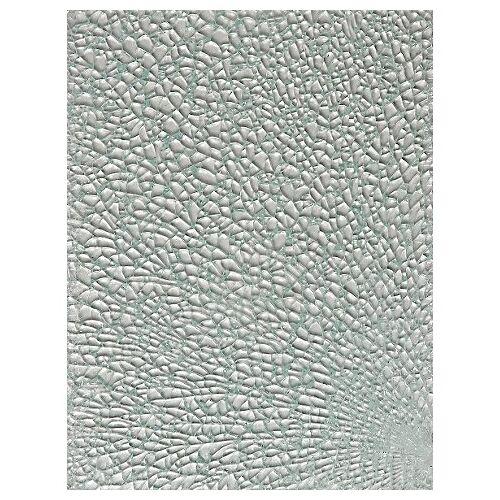 Crackle-/ Safety-Mosaik, kristall, 15 x 20 cm