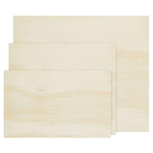 Sperrholzplatten, 3 Stück