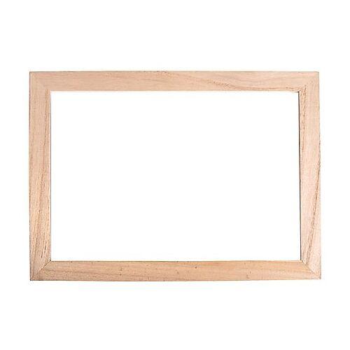 Holz-Rahmen mit Acrylglas, 35 x 26 x 0,7 cm