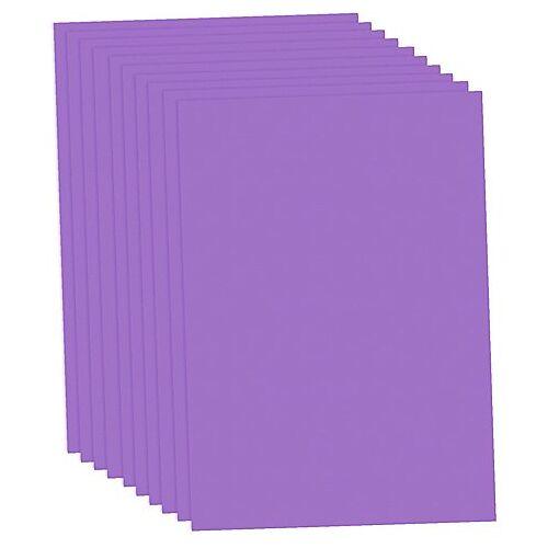 Fotokarton, lila, 50 x 70 cm, 10 Blatt