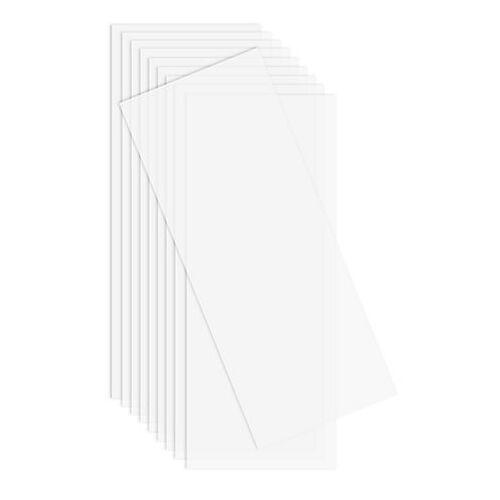Laternenfolie, weiß-opak, 50 x 20 cm, 10 Stück