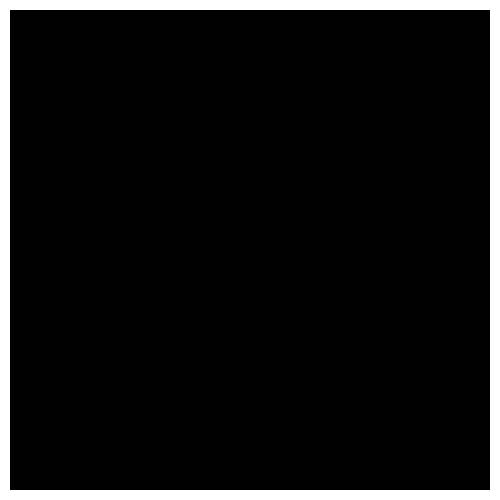 plottiX NylonFlex-Folie, schwarz, 30 x 30 cm
