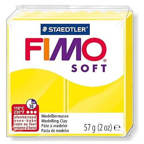 Fimo-Soft, zitronengelb, 57 g