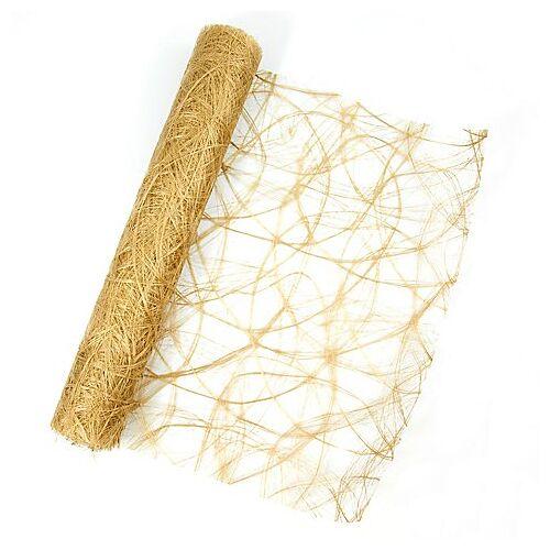 Tischband, gold, 30 cm, 5 m