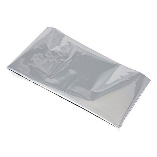 Beschriftungsfolie, silber, 5 x 10 cm, 5 Stück