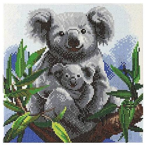 "Diamantenstickerei-Set ""Koala"", 30 x 30 cm"