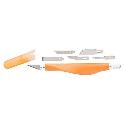 Präzisionsmesser-Set, 1 Messer mit 6 Klingen