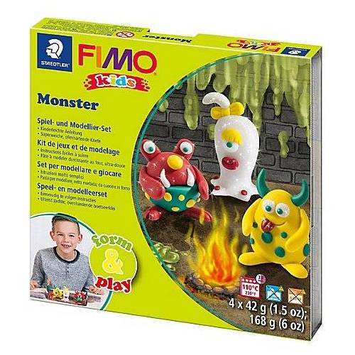 Monster Cable Fimo kids form & play Monster