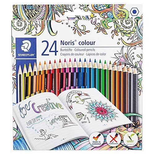Farbstifte-Set, 24 Stifte, bunt