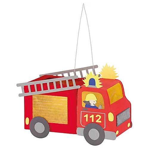 "Mini-Laternenset ""Feuerwehrauto"""