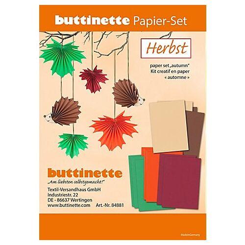 "Papier-Set ""Herbst"", 12 Teile"