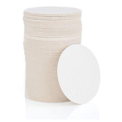 Bierdeckel, rund, natur, 10,7 cm Ø, 100 Stück