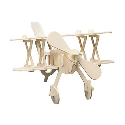 Holzbausatz Flugzeug, 22 x 16 cm