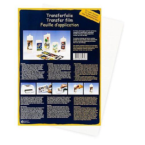Foto-Transferpapier für Kerzen, DIN A4, 1 Blatt