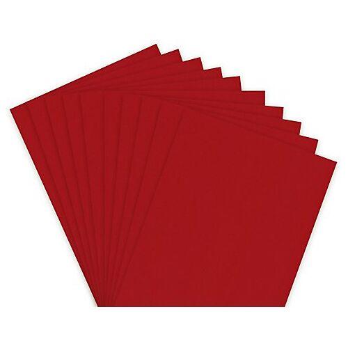 Tonzeichenpapier, rot, 21 x 29,7 cm, 50 Blatt