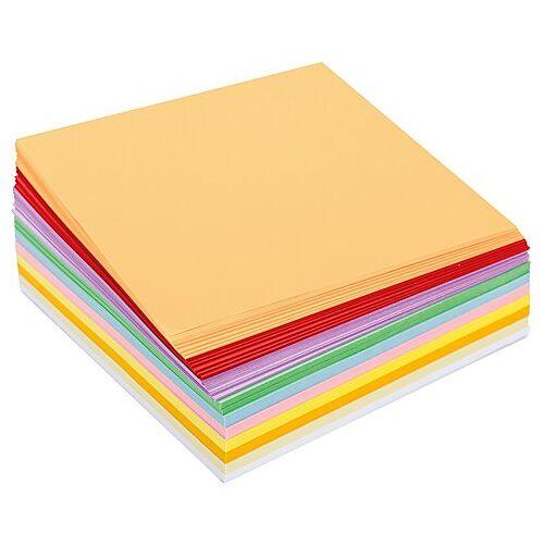 Faltpapier, pastell, 16 x 16 cm, 600 Blatt