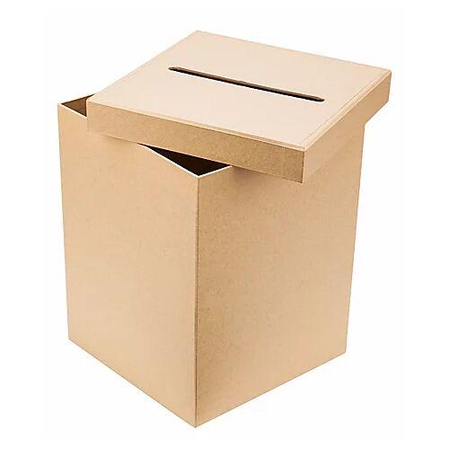 Papp-Briefbox, 19,5 x 19,5 x 25,5 cm