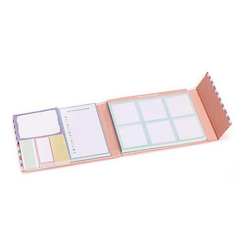 """Notizzettel-Set """"Wochenplaner"""", pastell, 17,5 x 15,5 cm"""