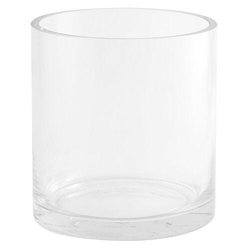 Glasvase, rund, 13,5 cm, 12,5 cm Ø