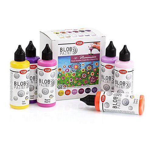 "Blob Paint Set ""Blumenwiese"""