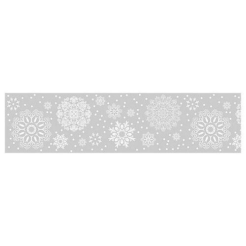 """Heyda Fenster-Tape """"Kristalle"""", 75 mm, 2 m"""