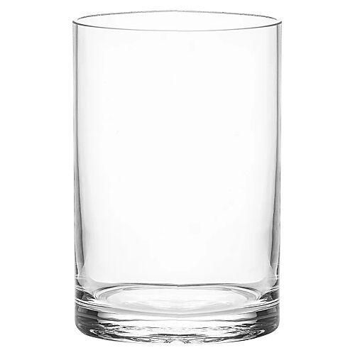 Glasvase, rund, 15 cm, 10 cm Ø
