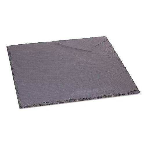 Schieferplatte, schwarz, 30 x 30 cm