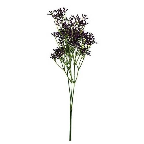 Hartriegel-Zweig, lila, 64 cm