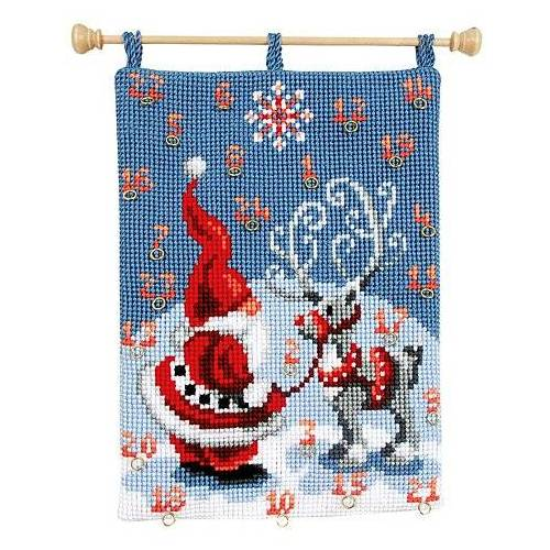 """Adventskalender """"Weihnachtsmann/Rentier"""""""