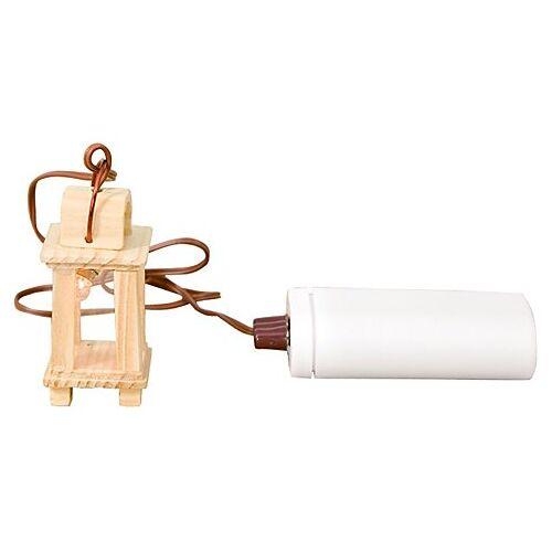 Batteriebetriebene Lampe, 2,5 x 2,5 x 5,5 cm